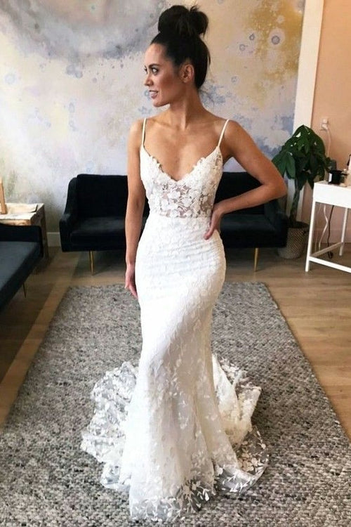 floral-lace-sheath-wedding-dress-for-summer-vestido-de-novia