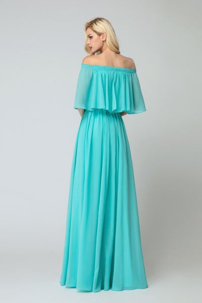 flounced-off-the-shoulder-bridesmaid-chiffon-dresses-with-side-slit-1