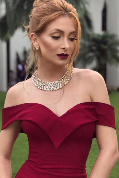 fold-off-the-shoulder-sexy-burgundy-formal-dress-with-slit-side-1