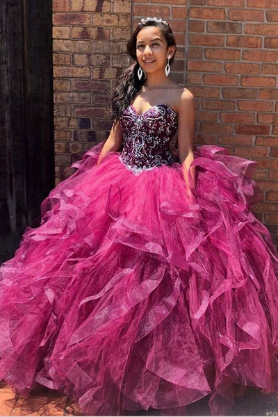 fuchsia-tulle-quinceanera-ballgown-with-rhinestone-and-crystal-beading-corset