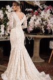 full-hollow-lace-wedding-gowns-with-long-chiffon-shawl-1