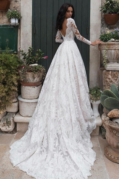full-lace-modest-wedding-dresses-long-sleeves-vestido-de-noiva-de-renda-1