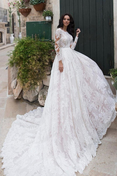 full-lace-modest-wedding-dresses-long-sleeves-vestido-de-noiva-de-renda