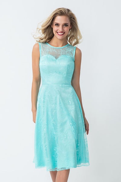 glamorous-lace-bridesmaid-dress-knee-length-2