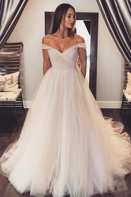 c8a8511e46 glamorous-tulle-wedding-gown-with-rhinestones-off-the-