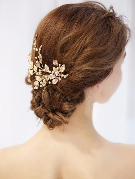 gold-wedding-hair-clip-accessories-leaf-and-pearls-bridal-headpiece-2