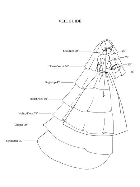 Cathedral Length Appliques Tulle Ivory Wedding Veil Styles