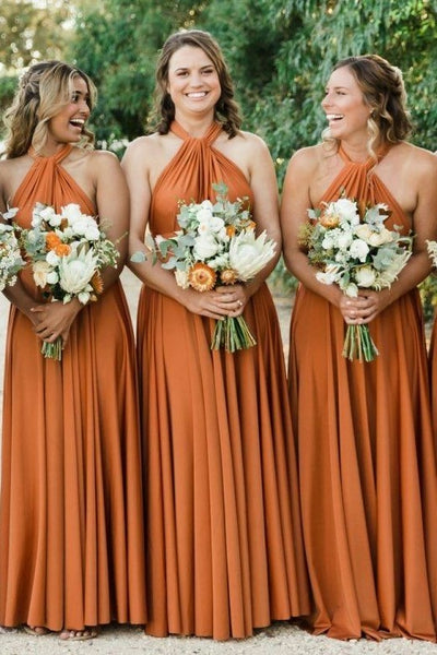 halter-ginger-bridesmaid-dresses-long-chiffon-skirt
