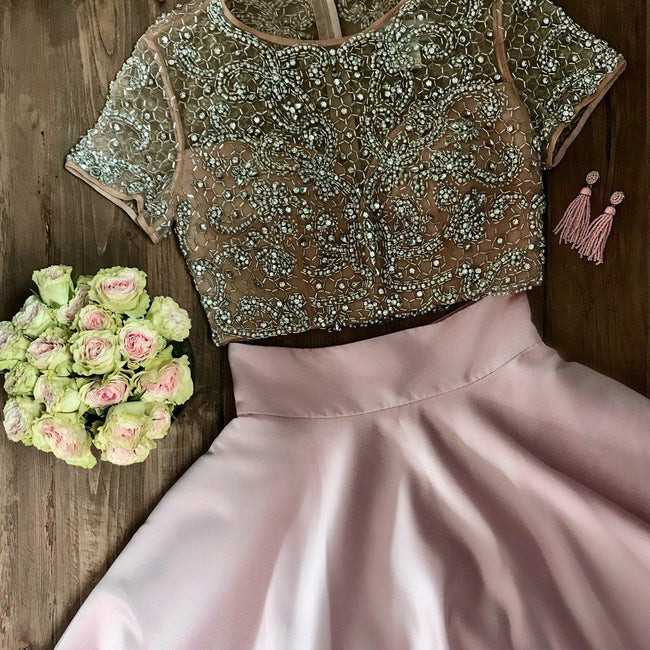 heavy-beading-short-sleeves-prom-dresses-two-piece-1