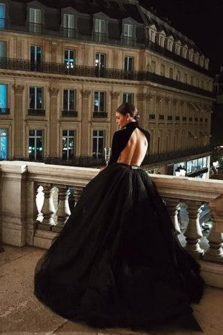 high-neck-black-ball-gown-dresses-with-long-sleeves-2