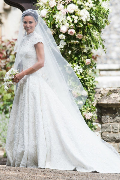 high-neck-vintage-lace-church-wedding-gown-with-cap-sleeves