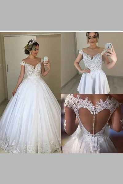 illusion-lace-cap-sleeved-bridal-dresses-with-removable-skirt-1