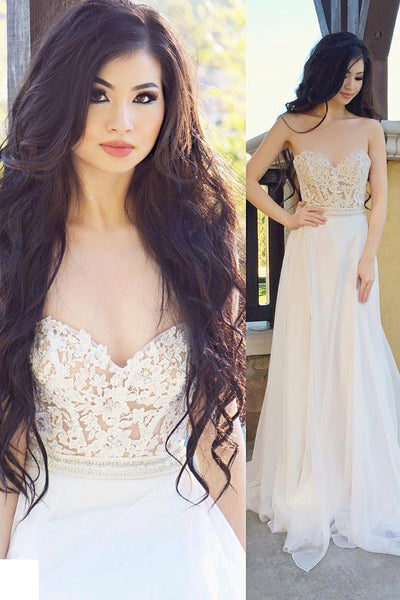 illusion-lace-sweetheart-backless-ivory-prom-dresses-wedding