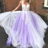 ivory-lavender-tulle-wedding-gown-with-floral-lace-bodice-2