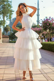 ivory-tulle-wedding-dresses-with-tiered-skirt