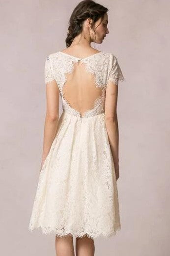 knee-length-lace-wedding-gown-with-short-sleeves-1