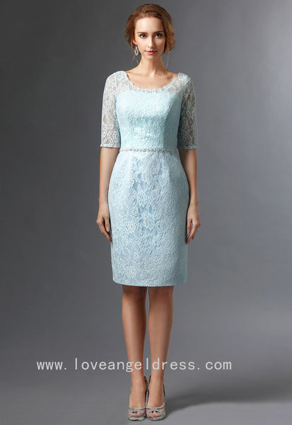 knee-length-light-blue-lace-bride-mother-dress-with-jacket-2