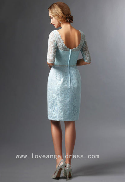 knee-length-light-blue-lace-bride-mother-dress-with-jacket-3
