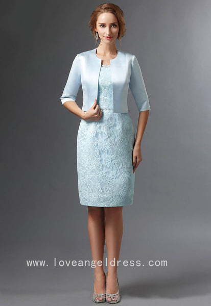knee-length-light-blue-lace-bride-mother-dress-with-jacket
