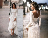 lace-full-sleeves-modest-wedding-gowns-with-sweep-train-2