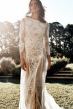 lace-long-sleeves-boho-wedding-dresses-with-open-back-2