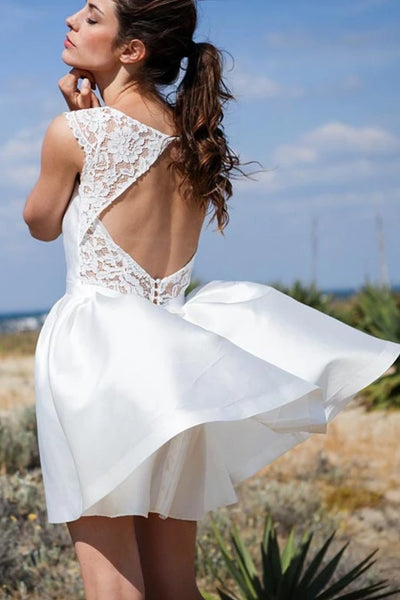 lace-neckline-short-white-wedding-gown-with-hollow-back-1