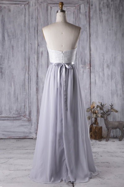 lace-pleated-bridesmaid-gown-with-strapless-sweetheart-neckline-1
