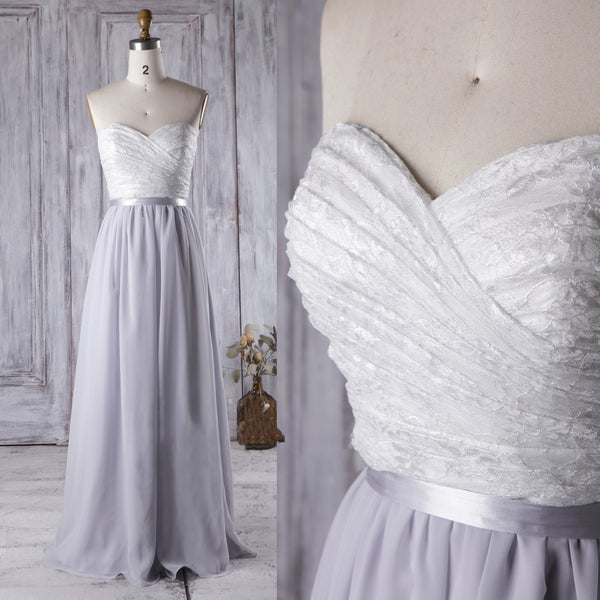 lace-pleated-bridesmaid-gown-with-strapless-sweetheart-neckline-2