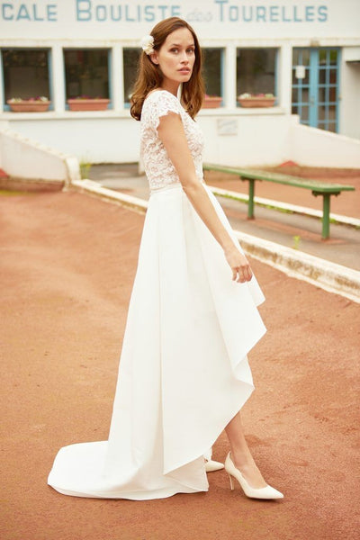 lace-satin-high-low-bridal-gown-with-sleeves-2