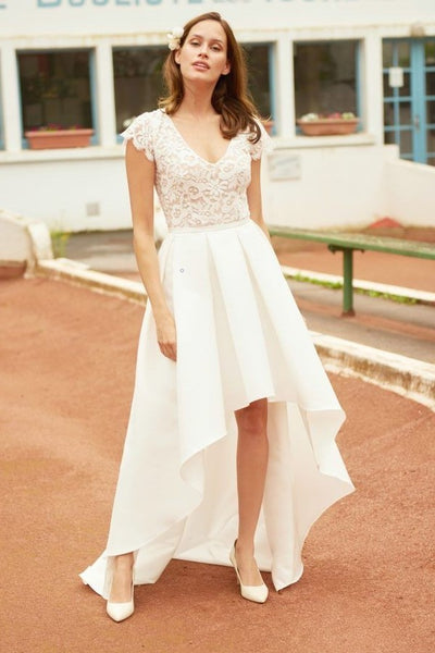 lace-satin-high-low-bridal-gown-with-sleeves