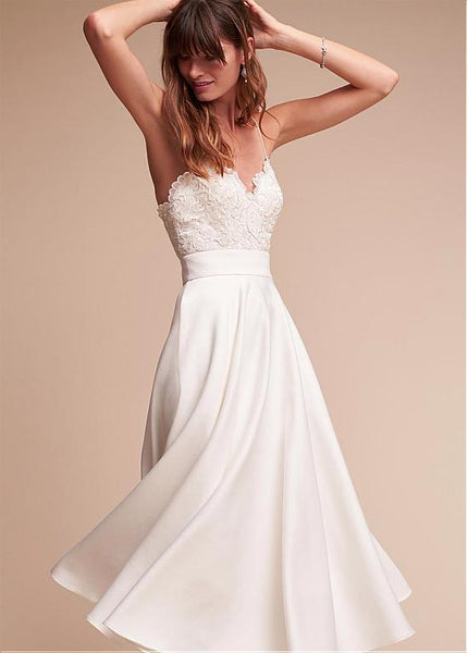 lace-satin-tea-length-wedding-gown-with-thin-straps-vestido-corto-de-novia-2
