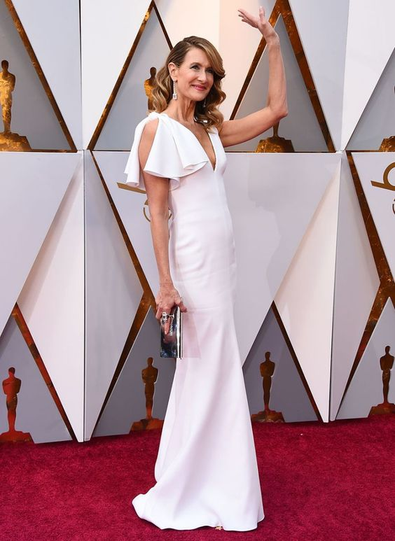 laura-dern-white-long-celebrity-dresses
