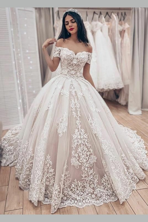 lavish-lace-wedding-ball-gown-dress-with-off-the-shoulder-sleeves