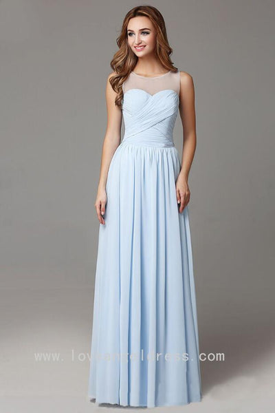 light-blue-chiffon-long-bridesmaid-dresses-sleeveless