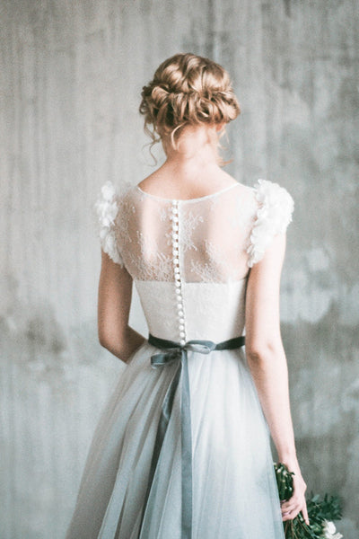 light-gray-wedding-dress-with-chiffon-flowers-sleeves-2