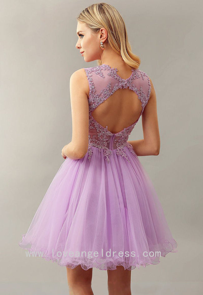 lilac-lace-bead-sleeveless-custom-homecoming-dress-short-1