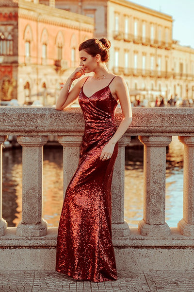 long-red-sequin-evening-dresses-elegant-women-gown-1