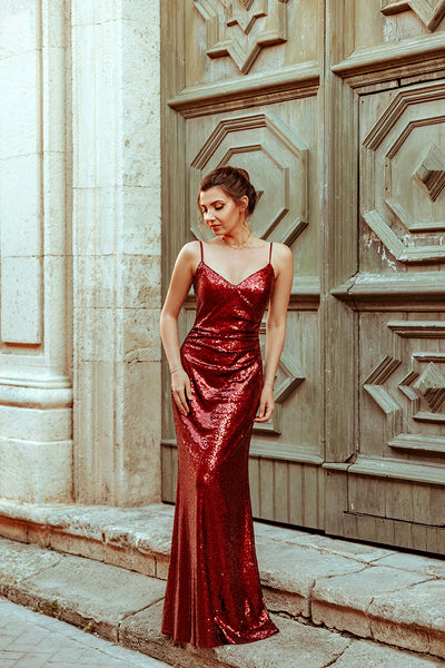 long-red-sequin-evening-dresses-elegant-women-gown-2