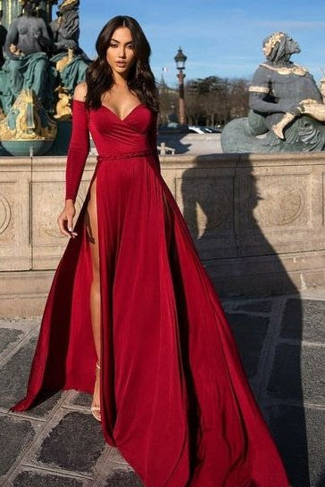 long-sleeves-evening-dress-with-off-the-shoulder