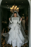 long-sleeves-white-wedding-gown-with-flounced-skirt-1
