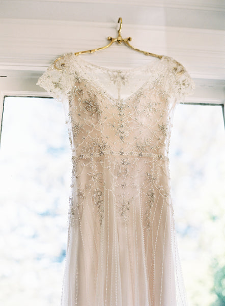 pearls-and-crystals-wedding-dresses-with-short-sleeves