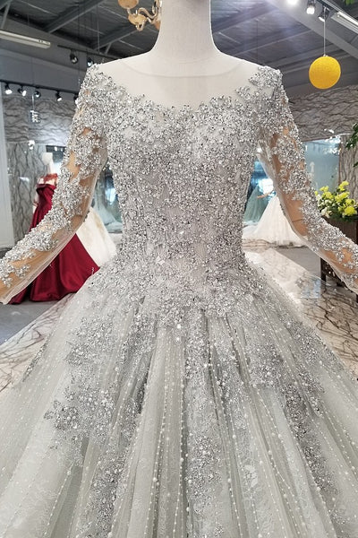 magnificent-stones-wedding-dresses-long-sleeves-illusion-neck-2