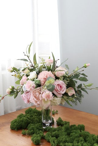 Mixed Artificial Flower Bouquets For Bridal Holding Flowers Wedding Ce Loveangeldress