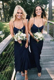 navy-blue-chiffon-halter-weddung-party-dress-2020-1