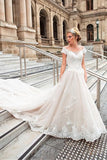 off-the-shoulder-cathedral-train-wedding-gown-with-lace-bodice-1