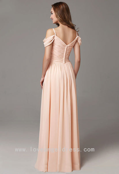 off-the-shoulder-chiffon-long-wedding-guests-dress-1