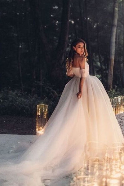 off-the-shoulder-tulle-wedding-dress-gown-with-long-train