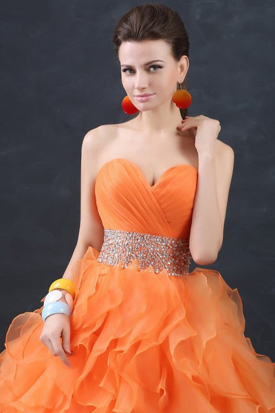 orange-organza-debutante-ball-gown-with-ruffles-skirt-2