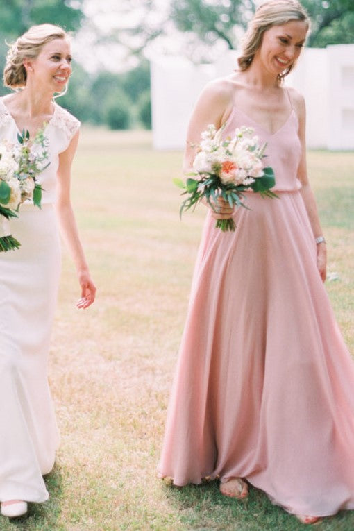 pink-boho-bridesmaid-dresses-with-strappy-chiffon-skirt-1