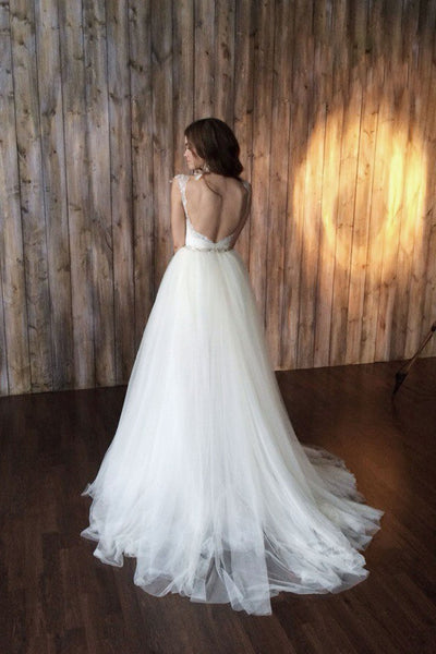 queen-anne-beaded-lace-bridal-gown-with-removable-tulle-skirt-1